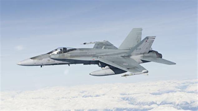 Un CF-18 Hornet des Forces canadiennes (archives)