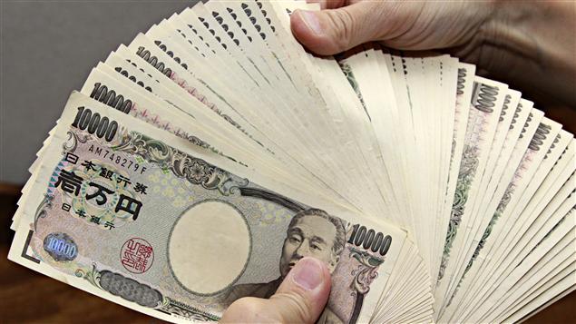 Des billets de 10 000 yens