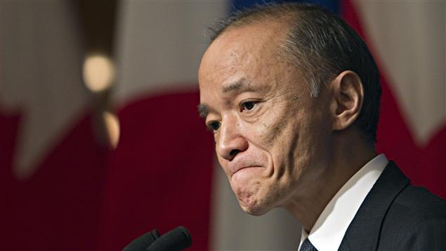 Kaoru Ishikawa, l'ambassadeur du Japon au Canada, en visite à Montréal