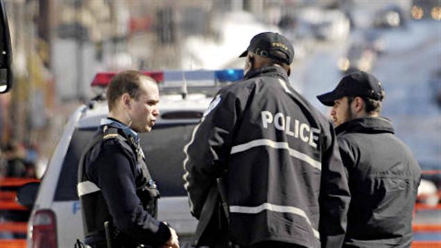 Des policiers du SPVM (archives)