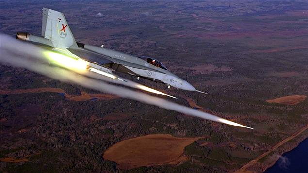 Un CF-18 (archives)