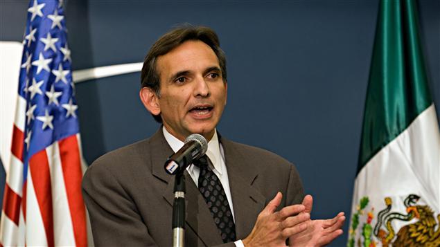 L'ancien ambassadeur des États-Unis au Mexique, Carlos Pascual