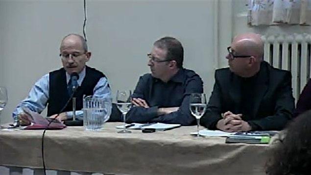 Conférence de presse du mouvement Sortons le Québec du nucléaire