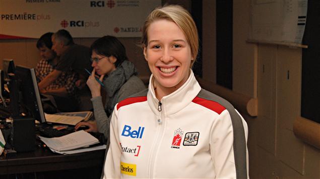 La patineuse de vitesse sur courte piste, Marianne St-Gelais