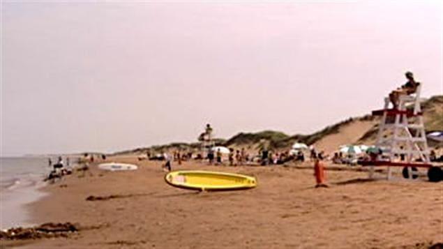 Une plage de l'Île-du-Prince-Édouard