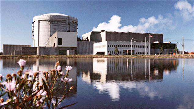 La centrale nucléaire de Point Lepreau, au Nouveau-Brunswick.