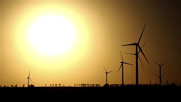 Les parcs d'éloliennes se multiplient partout sur la planète.