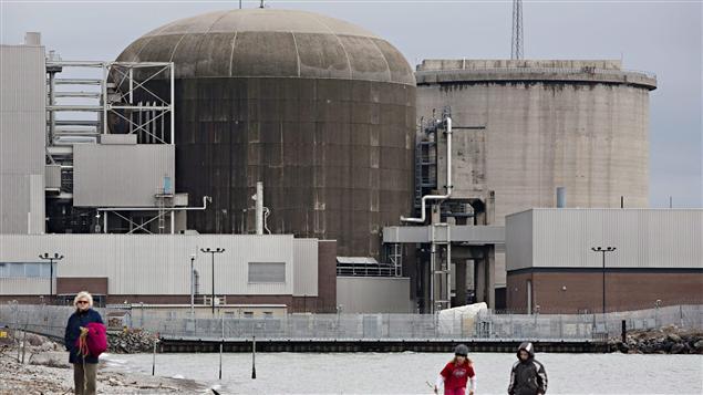 La centrale nucléaire de Pickering, en Ontario.