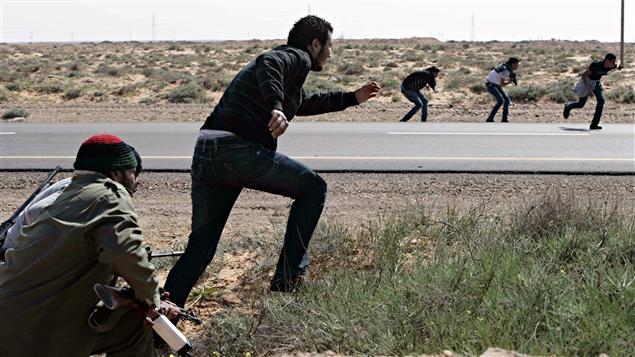 Rebelles libyens
