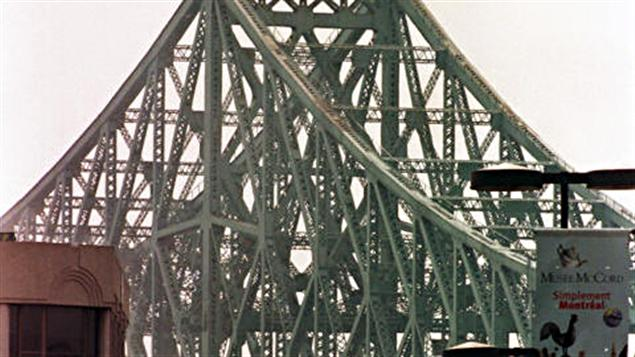 Le pont Jacques-Cartier