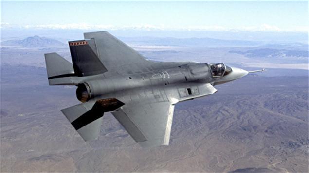 Un modèle de pré-production d'un F-35 Joint Strike Fighter