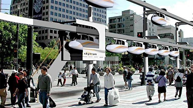 Monorail SkyTran