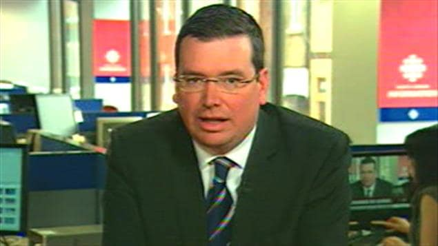 Le ministre conservateur, Christian Paradis