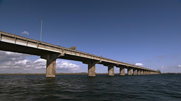 Le pont Champlain