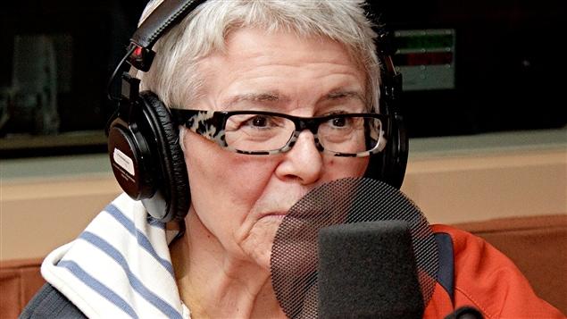 Chantal Jolis, animatrice à la radio