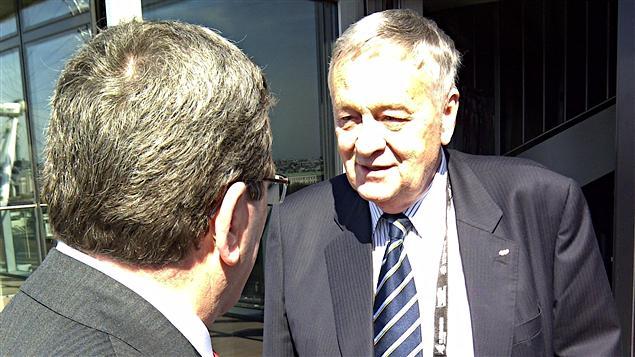 Rencontre entre le maire Labeaume et le président de la FIS