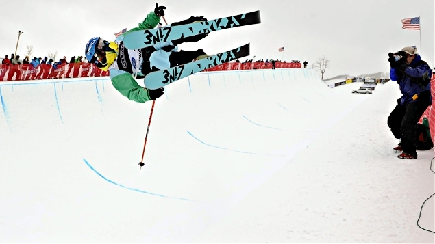 Ski en demi-lune