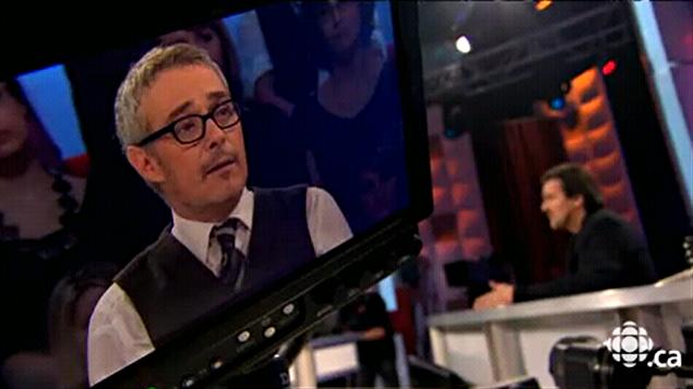Serge Denoncourt à l'émission Tout le monde en parle, diffusée le 10 avril 2011