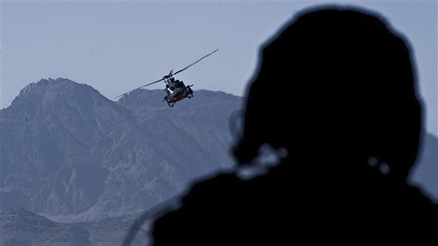 Soldat canadien en Afghanistan