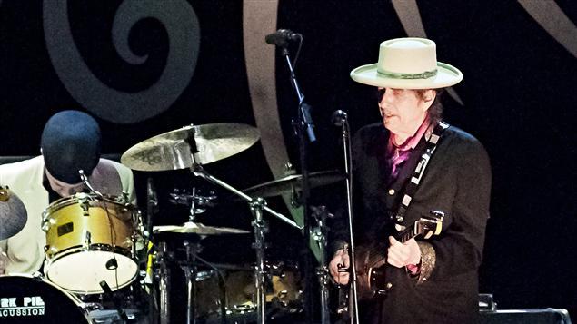 Bob Dylan sur scène au Vietnam