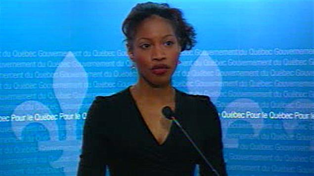 La ministre de la Famille Yolande James (archives)