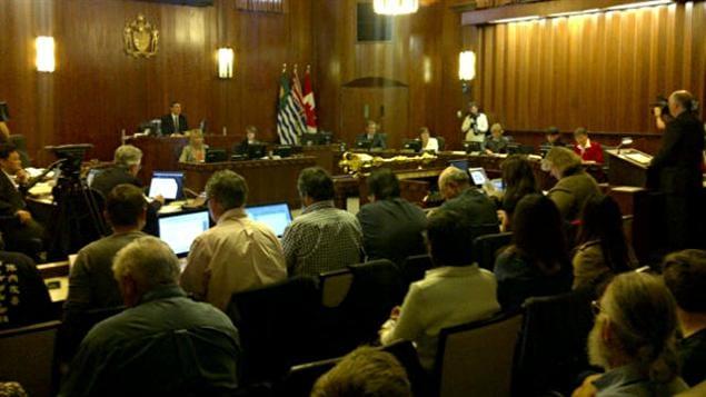Conseil municipal de Vancouver