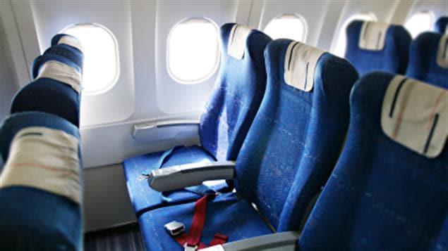 Sièges dans un avion