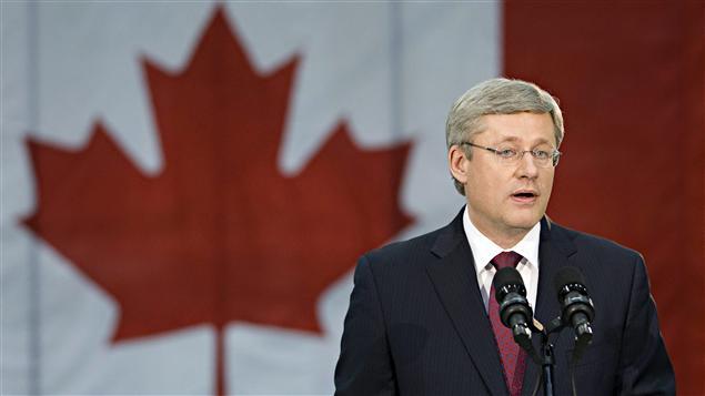 Le premier ministre Stephen Harper s'est adressé aux médias après l'annonce de la mort de Ben Laden