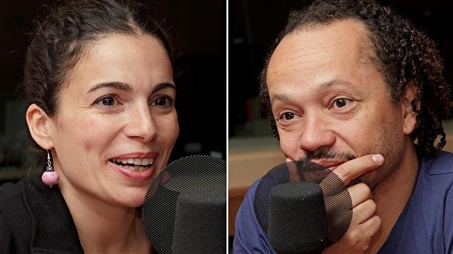 Les musiciens Yael Naim et David Donatien