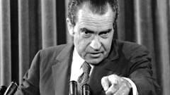 Richard Nixon, le président au centre du scandale du Watergate