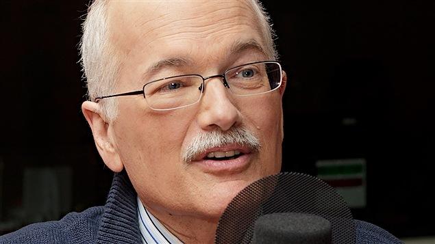 Jack Layton, chef du NPD