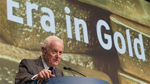 Peter Munk, fondateur et président du conseil d'administration de Barrick Gold