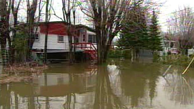 Inondations en Mauricie