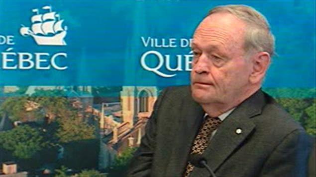 L'ancien premier ministre du Canada, Jean Chrétien