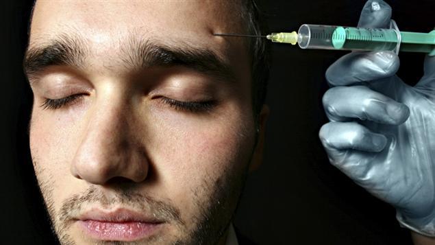 Une injection de botox