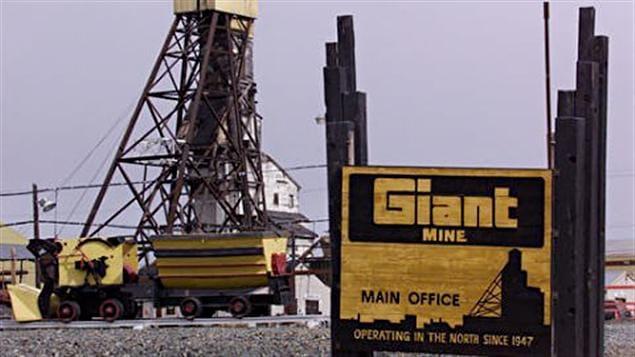 Mine Giant près de Yellowknife