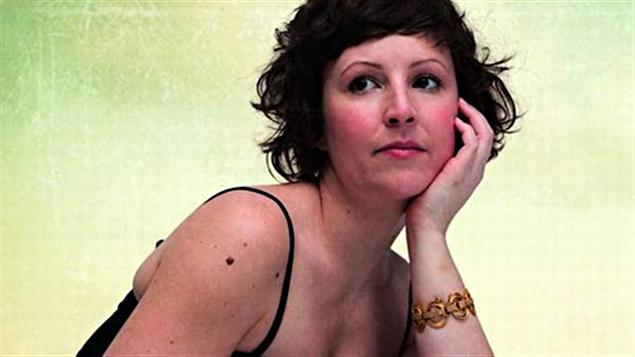 La chanteuse Caroline D'été
