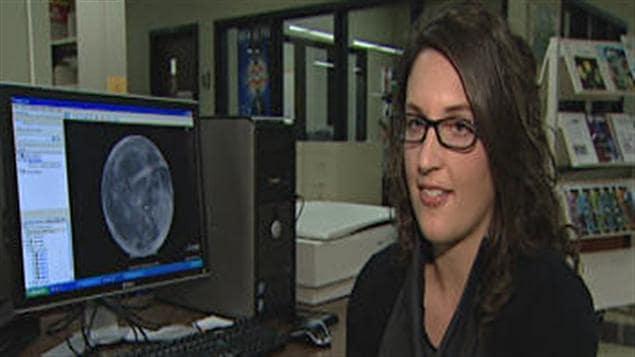 Myriam Lemelin participera à un stage à la NASA.