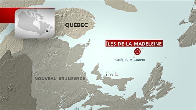 Carte des Îles-de-la-Madeleine