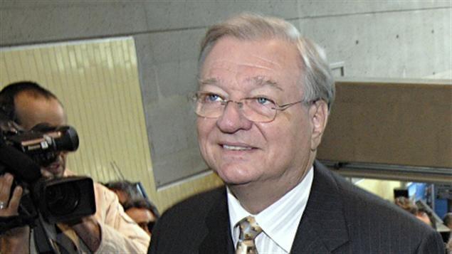 Le maire de Laval, Gilles Vaillancourt
