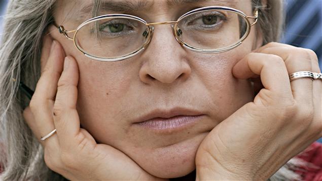 La journaliste russe Anna Politkovskaïa, en mars 2005