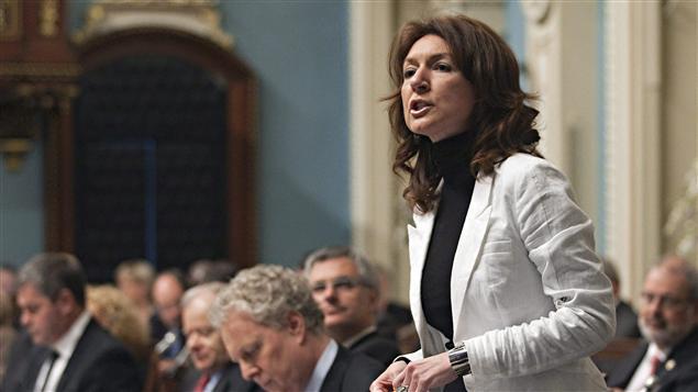 La ministre des Ressources naturelles, Nathalie Normandeau