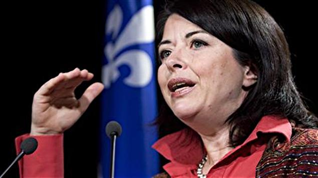 Line Beauchamp, ministre de l'Éducation, du Loisir et du Sport