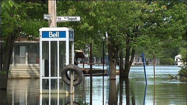 L'eau continue de baisser en Montérégie.