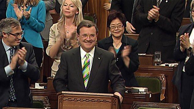 Jim Flaherty aux Communes