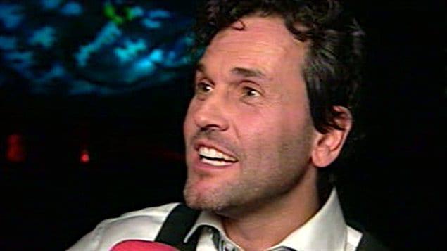 L'auteur-compositeur-interprète Martin Léon