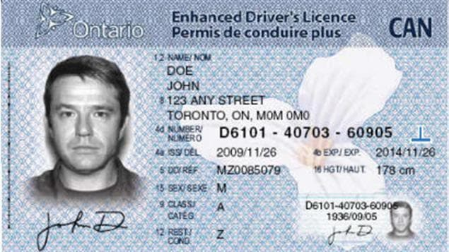 Ontario Generator Drivers Number License
