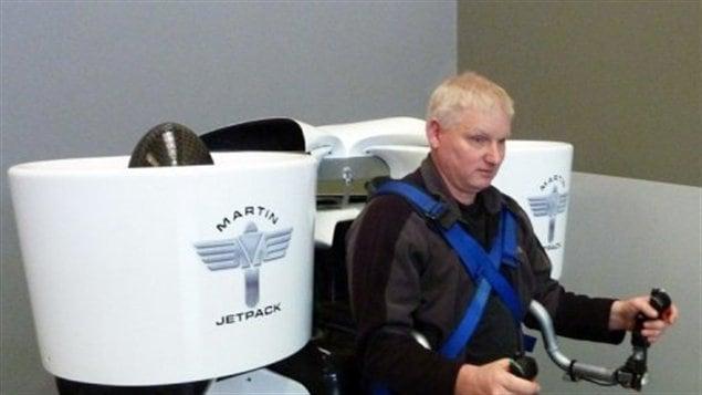 Glenn Martin et son jetpack