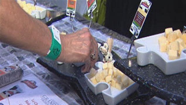 Le Festival des fromages fins de Victoriaville