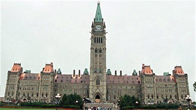 Parlement canadien à Ottawa